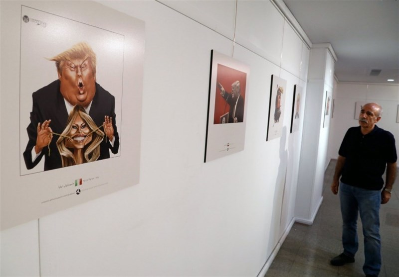 Trump mocked in Iran cartoon competition