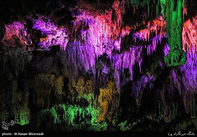 همدان| غار علیصدر شگفتانگیزترین غار آبی جهان در دل کوه + تصاویر