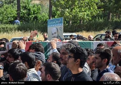 تشییع پیکر شهید مدافع حرم جلال ملک محمدی