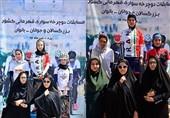 پرستو باستی قهرمان دوچرخهسواری استقامت بانوان ایران شد