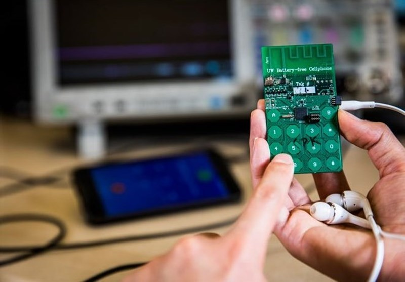 Battery-Free Cellphone Uses Ambient Power
