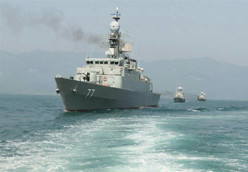 Iran Wraps Up Naval Drill in Caspian Sea