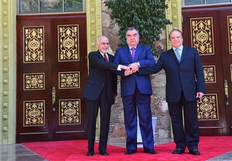 برگزاری نشست سه جانبه سران تاجیکستان، افغانستان و پاکستان