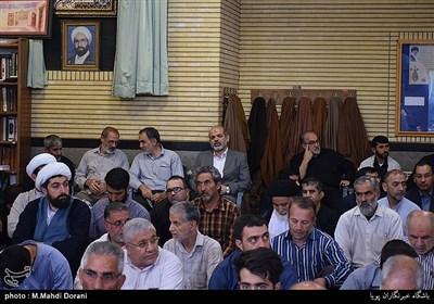 مراسم ختم شهید مدافع حرم محمد جلال ملک محمدی