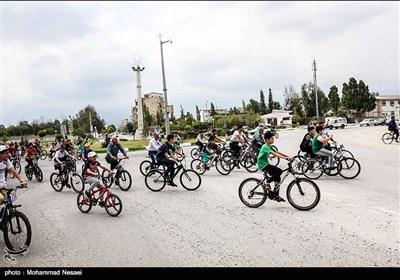 همایش دوچرخه سواری در حمایت از خلیج گرگان