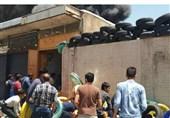 انبار بزرگ باربری شیراز طعمه حریق شد