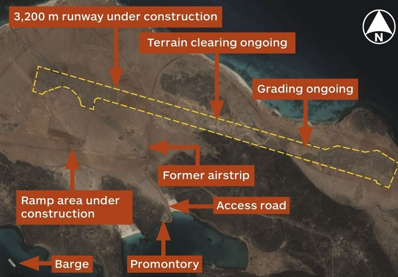 الإمارات تبنی قاعدة عسکریة على الأراضی الیمنیة