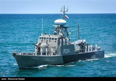 رزمایش امنیت پایدار و اقتدار دریایی 96- گیلان
