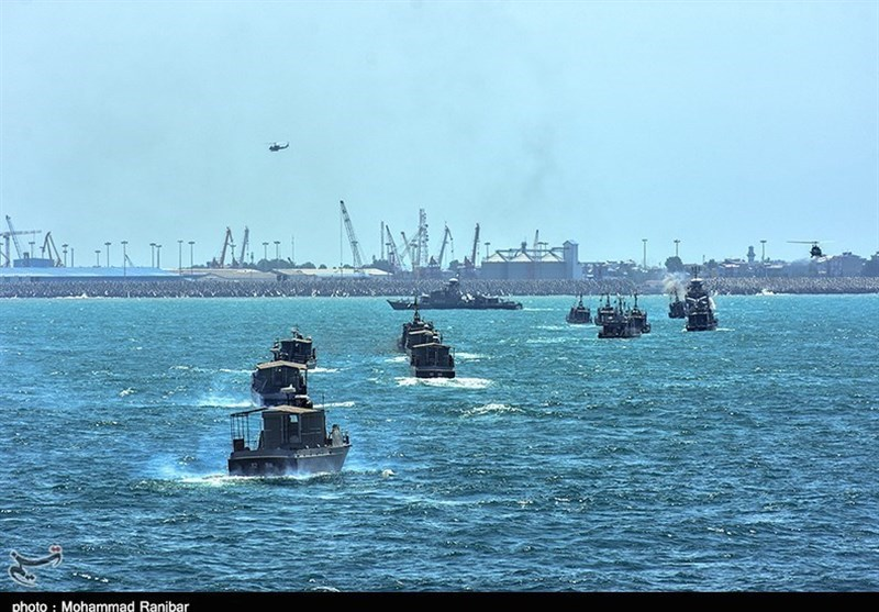 Iranian, Russian Caspian Forces Hold Joint Naval Exercise