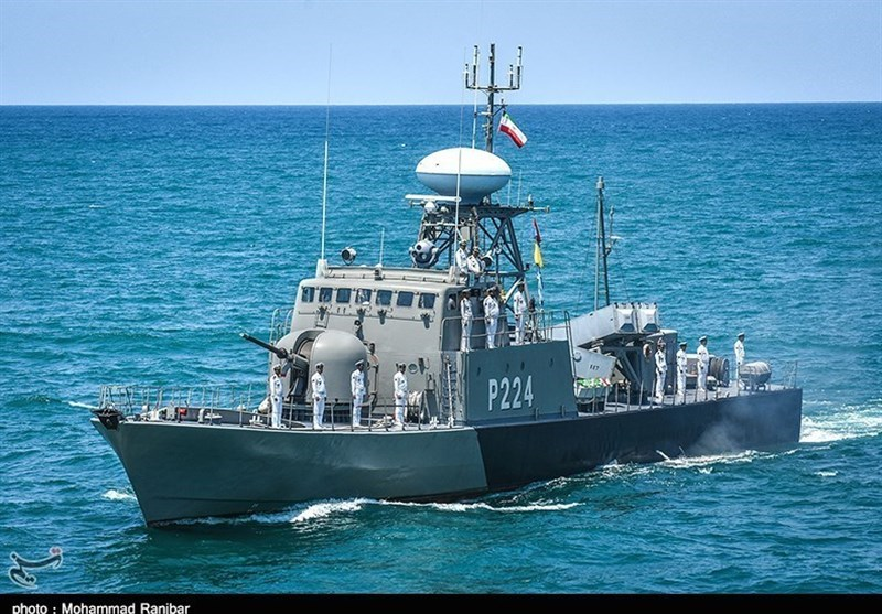 Iranian Naval Flotilla on Way to Gulf of Aden
