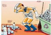 کسب جوایز برتر جشنواره ملی کارتون مدیریت پسماند توسط کاریکاتوریستها اصفهانی