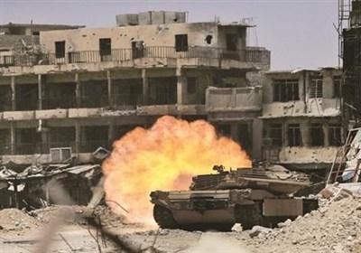 جانب من ملاحم القوات العراقیة فی الموصل