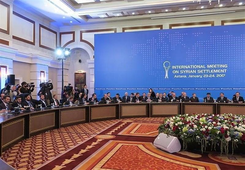 نشست سه جانبه هیاتهای ایران، روسیه و ترکیه در آستانه 8