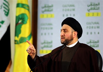 حکیم: شهید سلیمانی و ابومهدی المهندس پیروزی را در عراق رقم زدند/مرجعیت قطبنمای ماست