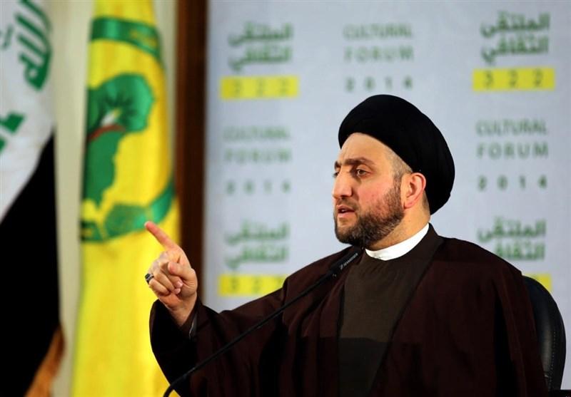 الحکیم: بعون الله سنقوم باجتثاث جذور داعش فی العراق