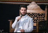 مداحی میثم مطیعی در جمع رزمندگان فاطمیونِ حلب+فیلم