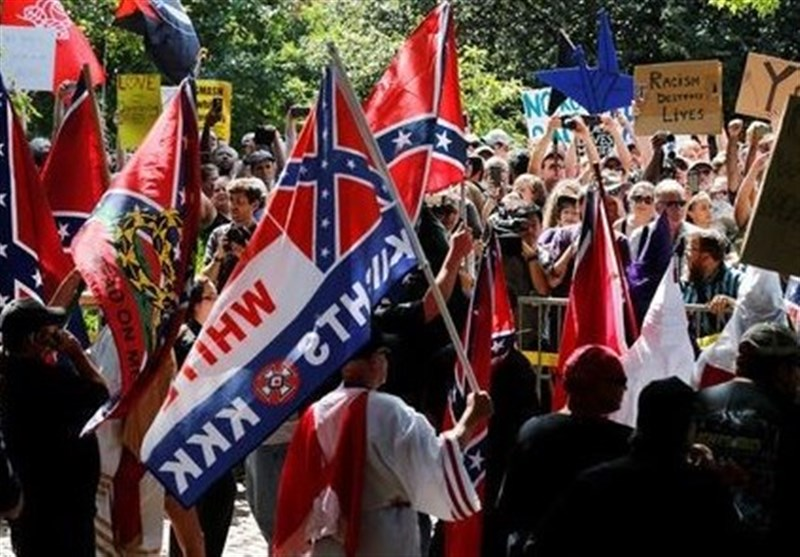 KKK Rally in US Charlottesville Outnumbered by Counter Protesters