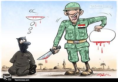 کاریکاتور/ سرنگونیِ خلافت داعش در موصل