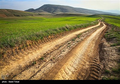 الطبیعة فی ''شیروان'' شمال شرق إیران