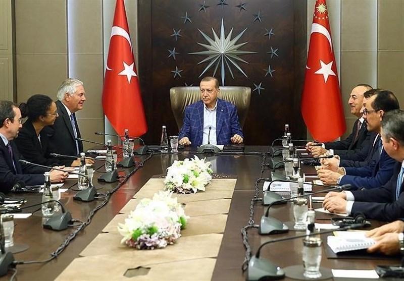 اردوغان و تیلرسون