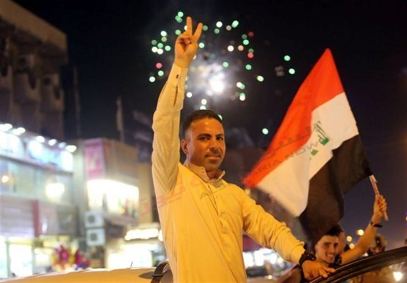 شادی پایتخت نشینان عراق از آزادی موصل