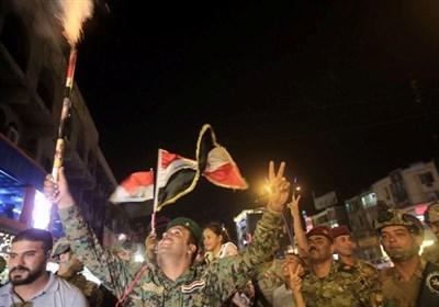 جنود عراقیون یحتفلون بنصر الموصل: السید السیستانی تاج على الرأس