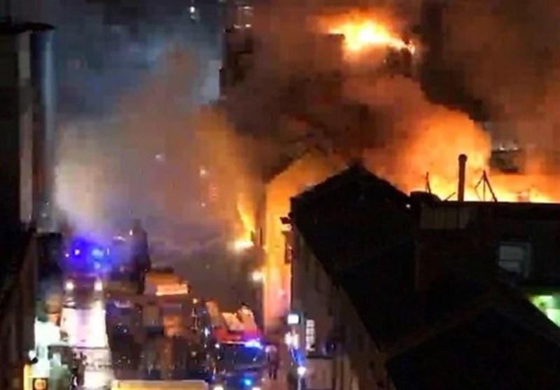 آتش سوزی بازار لندن