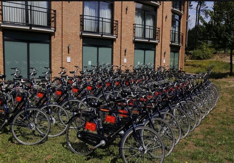 دوچرخهسواری جهانبخش و یارانش در جنوب + تصاویر