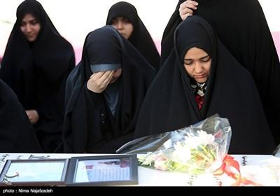تشخیص هویت پیکر شهید ابوالفضل رفیعی در مزار شهدای گمنام دانشگاه فردوسی- مشهد