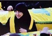 سخنان حماسی مادر شهید لبنانی در تشییع فرزندش+فیلم