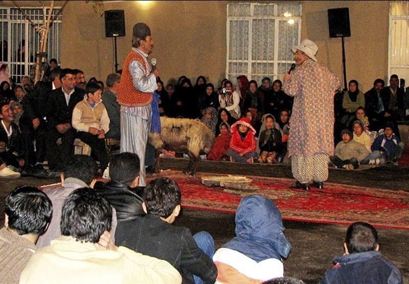 دیوار کوتاه نمایش ایرانی