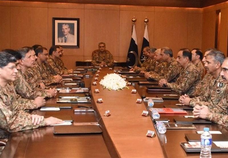 پاک فوج کا کور کمانڈراجلاس؛ مشرق وسطیٰ اور افغانستان کے پاکستان پر اثرات زیر غور