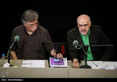 سیدعلی قائم مقامی سخنگو و همایون اسعدیان رئیس هیئت مدیره خانه سینما در نشست خبری