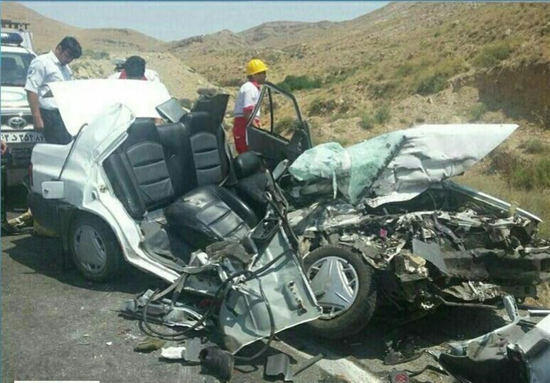 تصادف در محور قوچان به درگز 7 کشته برجای گذاشت+ عکس