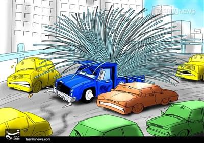 کاریکاتور/ جانومال شهروندان،قربانیحملنامناسب