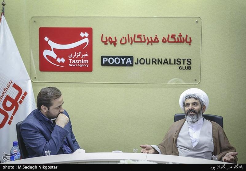 حجت الاسلام گلزاده عضو هیات علمی بعثه مقام معظم رهبری و حجت ترشیزی مدیرکل امور ایثارگران جهاد کشاورزی