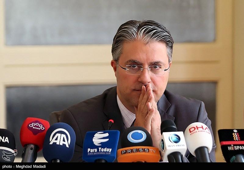 """نشست خبری """"رضا هاکان تکین"""" سفیر ترکیه"""
