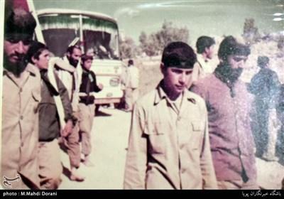 دیدار جامعه قرآنی با خانواده شهید حسین آقاخانی
