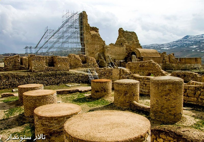 «تخت سلیمان» میعادگاه هزارانساله جشنها و آئینهای اسلامی و باستانی+فیلم