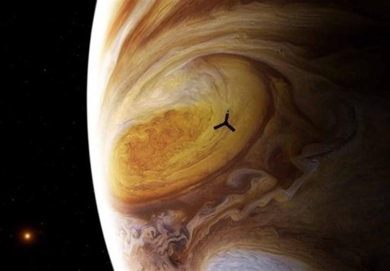 NASA's Juno Spacecraft Spots Jupiter's Great Red Spot