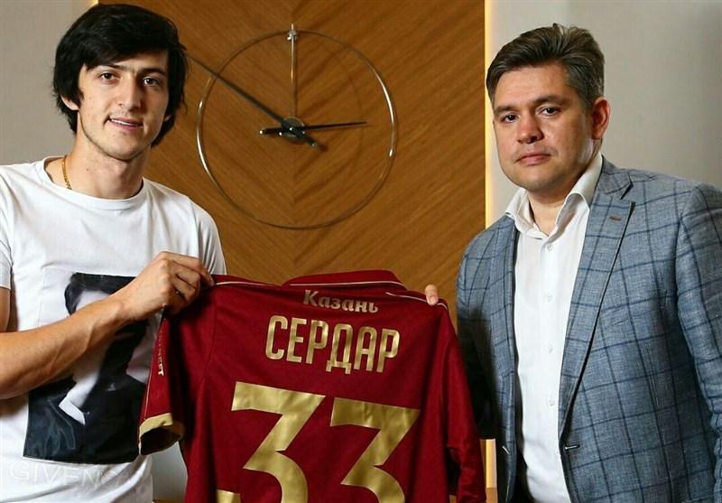 Sardar Azmoun Extends Contract with Rubin Kazan