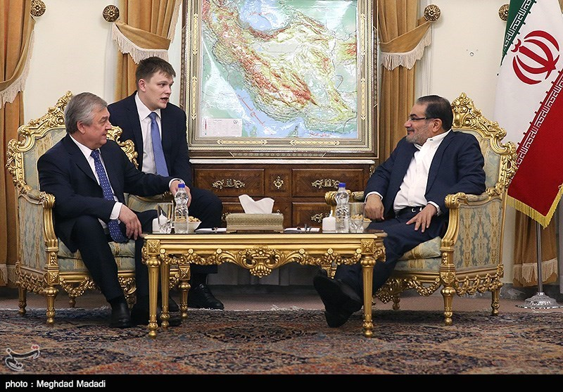 Iran's Top Security Official, Russian Envoy Discuss Syrian Crisis