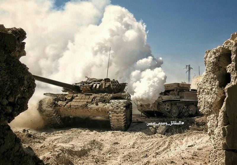 """""""السخنہ"""" داعش سے آزاد کرالیا گیا/ شامی فوج """"دیرالزور"""" سے 50 کلومیٹر کے فاصلے پر"""