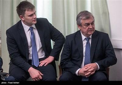 دیدار نماینده ویژه پوتین و جابری انصاری
