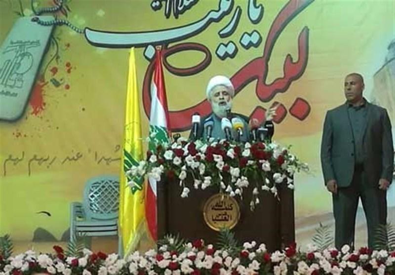 الشیخ قاسم: هناک قرار أممی بعدم عودة النازحین السوریین الى بلدهم