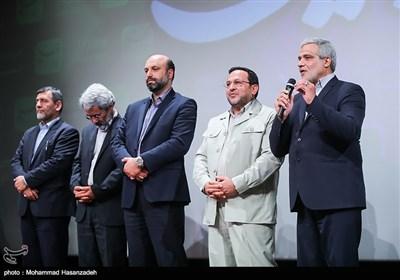 سخنرانی مجید قلیزاده مدیر عامل خبرگزاری تسنیم در آیین تجلیل خبرگزاری تسنیم از عوامل فیلم ویلاییها
