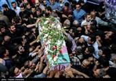 پیکر مطهر5 شهید مدافع حرم در قم تشییع شد
