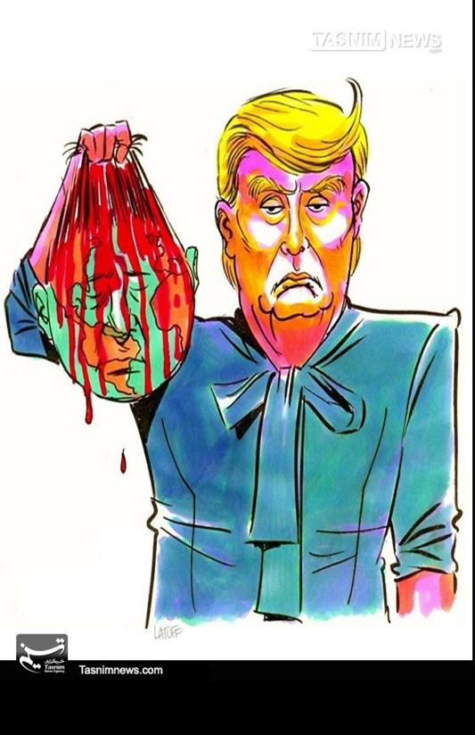 کاریکاتور/ «ترامپ» آمریکای بدون روتوش