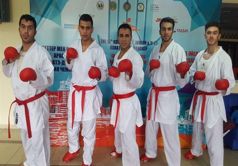 Iranian Male, Female Kumite Teams Crowned Asian Champion