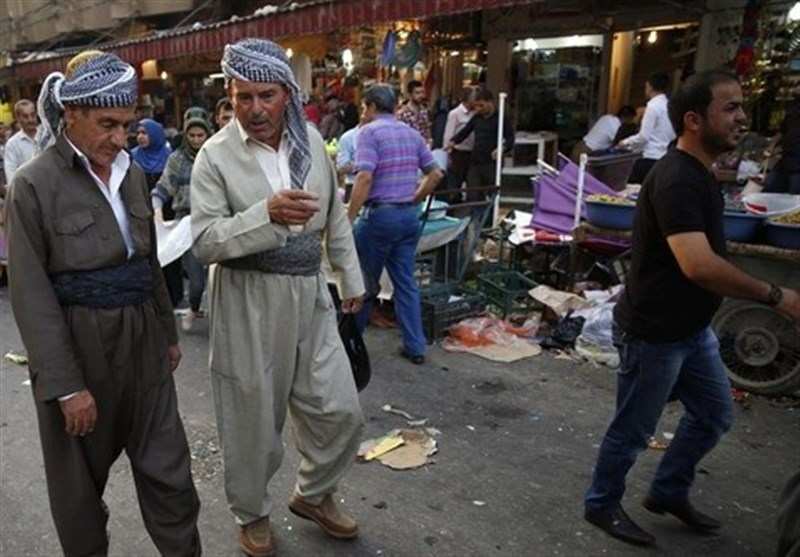 أکراد العراق یخزنون المواد الغذائیة خشیة وقوع حرب